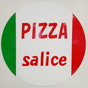 ピザ円形マグネットシート